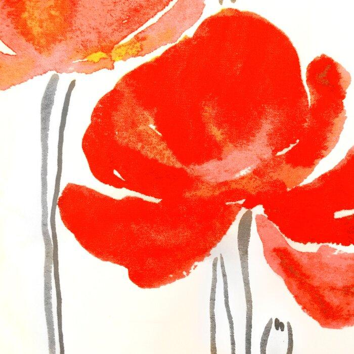 Petunia Cotton Single Shower Curtain
