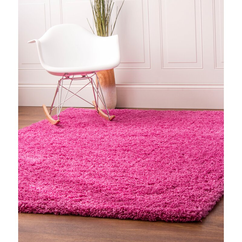 Super Area Rugs Pink Area Rug & Reviews