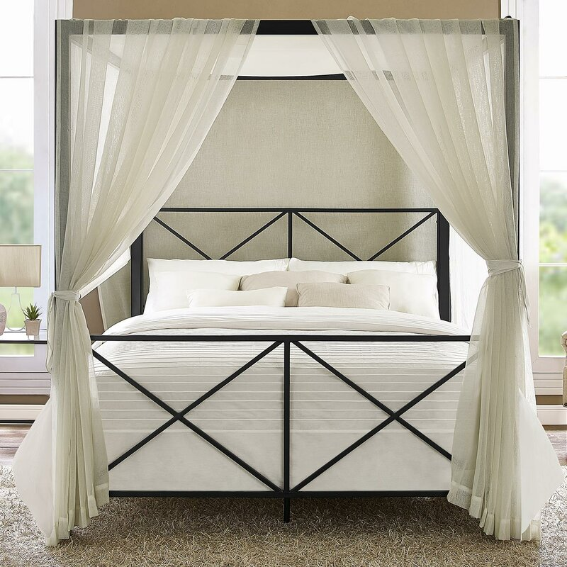 Incroyable Gilma Canopy Bed