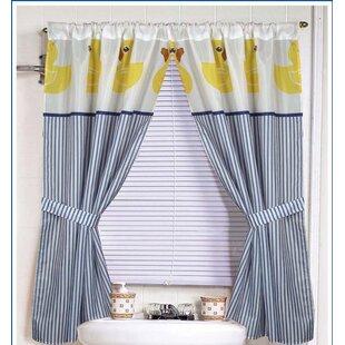 Ducky Curtain Panels Set Of 2