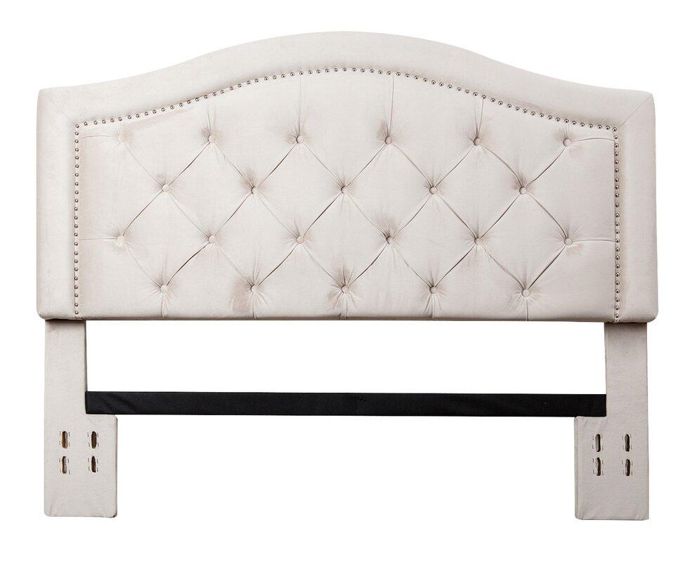 House Of Hampton Bridgeton Upholstered Panel Headboard