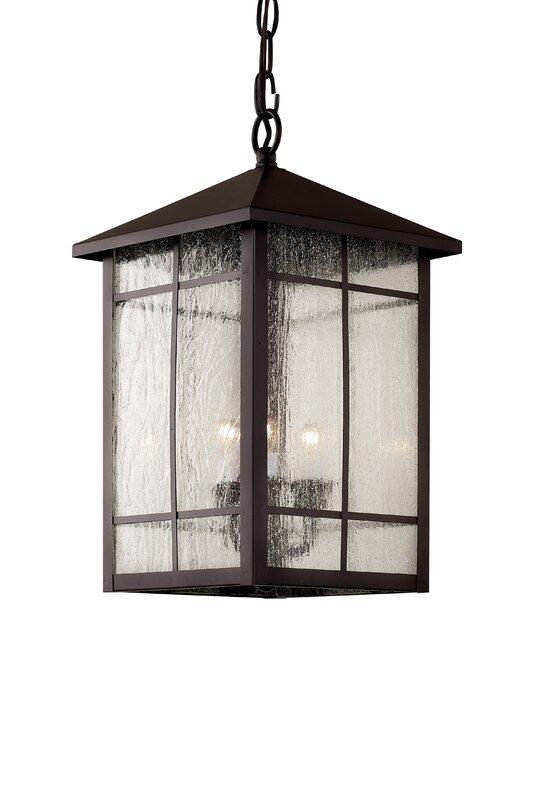 Bell 3 Light Outdoor Hanging Lantern