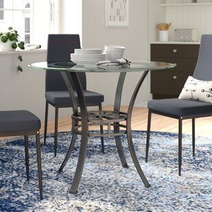 acf1d5b7bd6a Glass Kitchen & Dining Tables You'll Love | Wayfair
