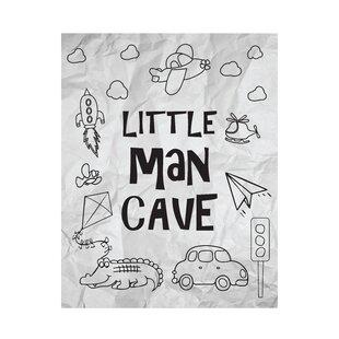 Little Man Cave Paper Print