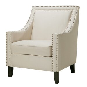 trefethen wood accent arm chair