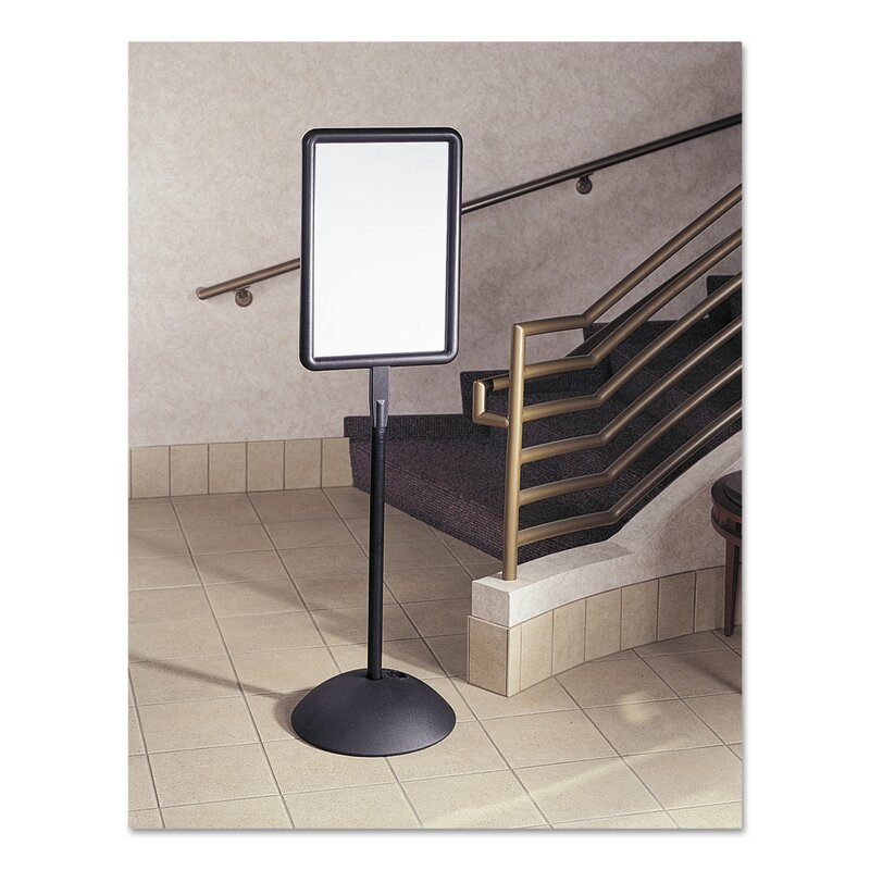 Double Sided Magnetic Free Standing Dry Erase Board