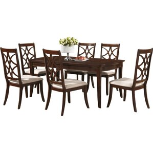 Baxton Studio 7 Piece Dining Set by Wholesale Interiors