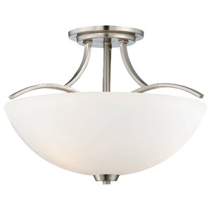 Parish 3-Light Semi Flush