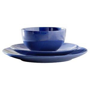 Wayfair Basics 12 Piece Stoneware Dinnerware Set, Service for 4