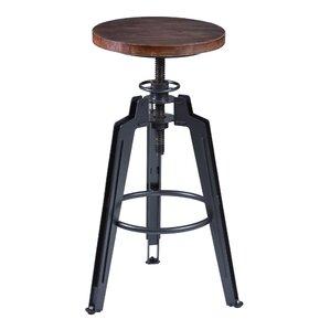 Cosmia Adjustable Height Swivel Bar Stool..