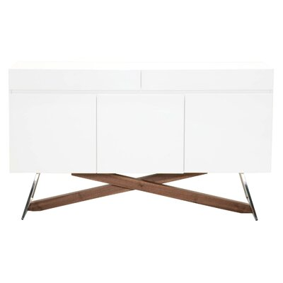 Sienna Mid-Century Modern Credenza Foundry Select