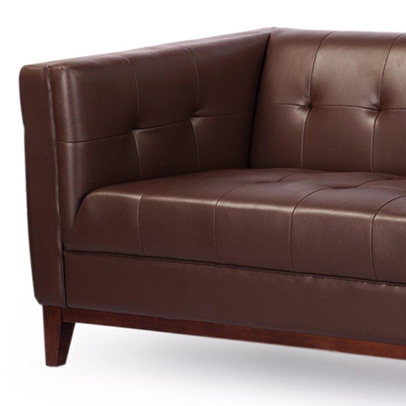 Kardiel Harrison Mid Century Modern Loft Leather
