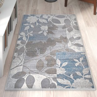 Beige Grey Blue Area Rug Wayfair