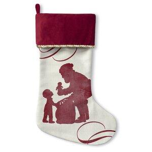 Santa's Gift Christmas Stocking