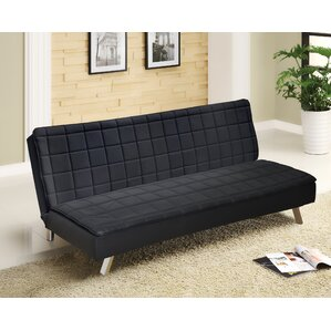 Urban Shop Memory Foam Convertible Sofa by Idea Nuova