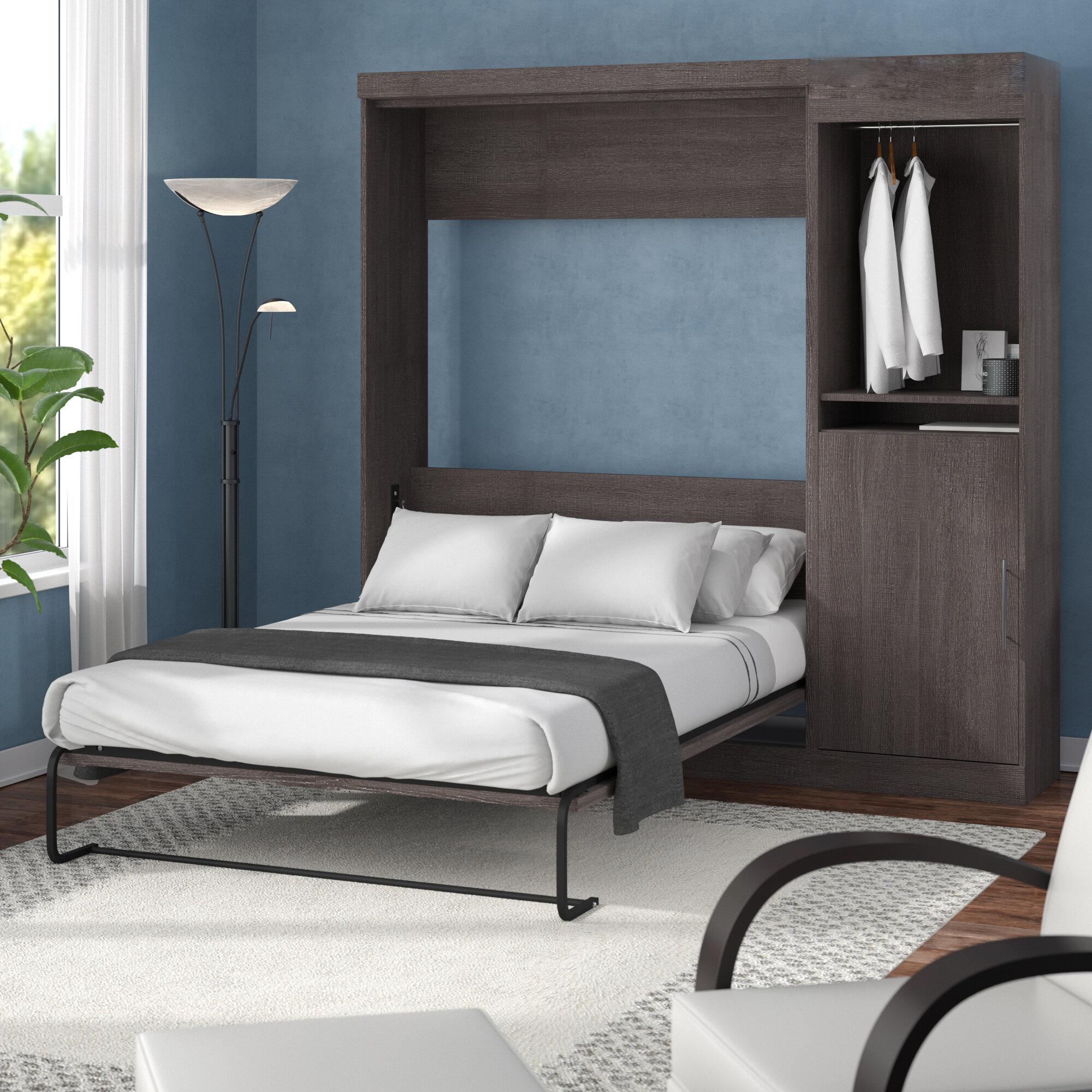 Brayden Studio Truett Fulldouble Murphy Bed Reviews Wayfair