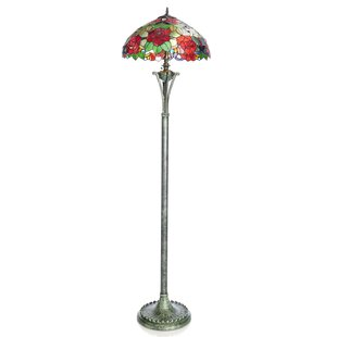 warehouse on shop style glass lamp floor tiffany these of bargains karrie out pink lily check light lamps