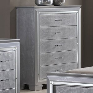 Reena 5 Drawer Chest by Rosdorf Park