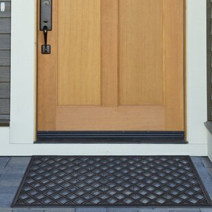 Goehring Lattice Wrought Iron Rubber Doormat & Indoor Door Mats You\u0027ll Love