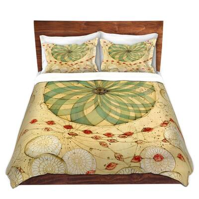 KESS InHouse Robin Dickinson Once Upon A Time Starfish Queen Comforter 88 X 88
