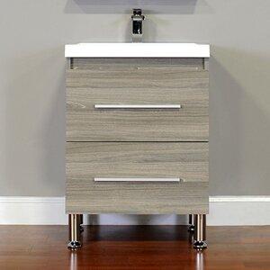 Waldwick 24 Single Modern Bathroom Vanity Set