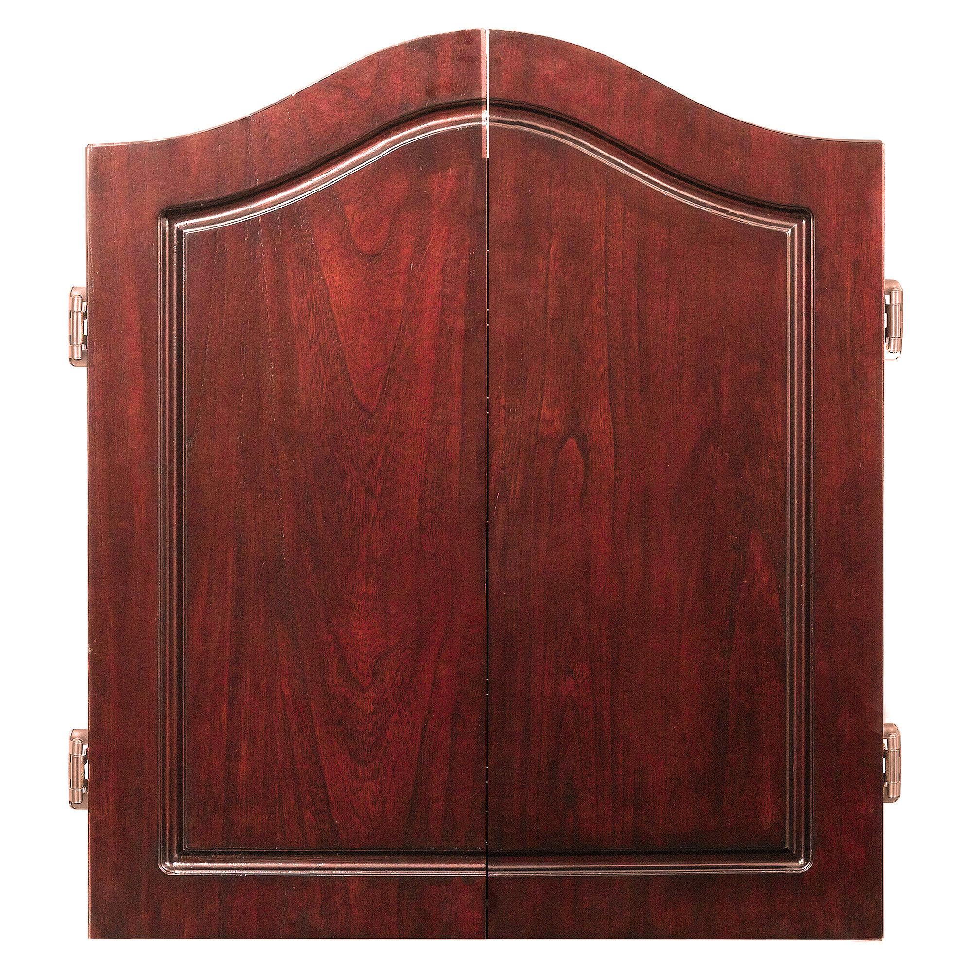 Centerpoint Solid Wood Dartboard U0026 Cabinet Set