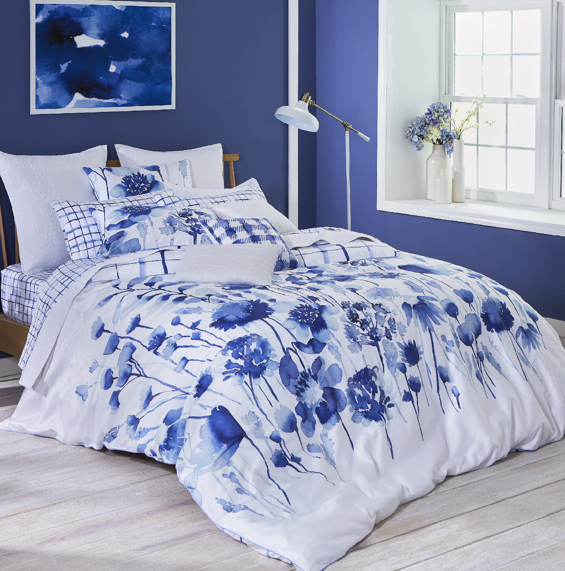 Merveilleux Bluebellgray Corran 100% Cotton Bedding Set U0026 Reviews | Wayfair