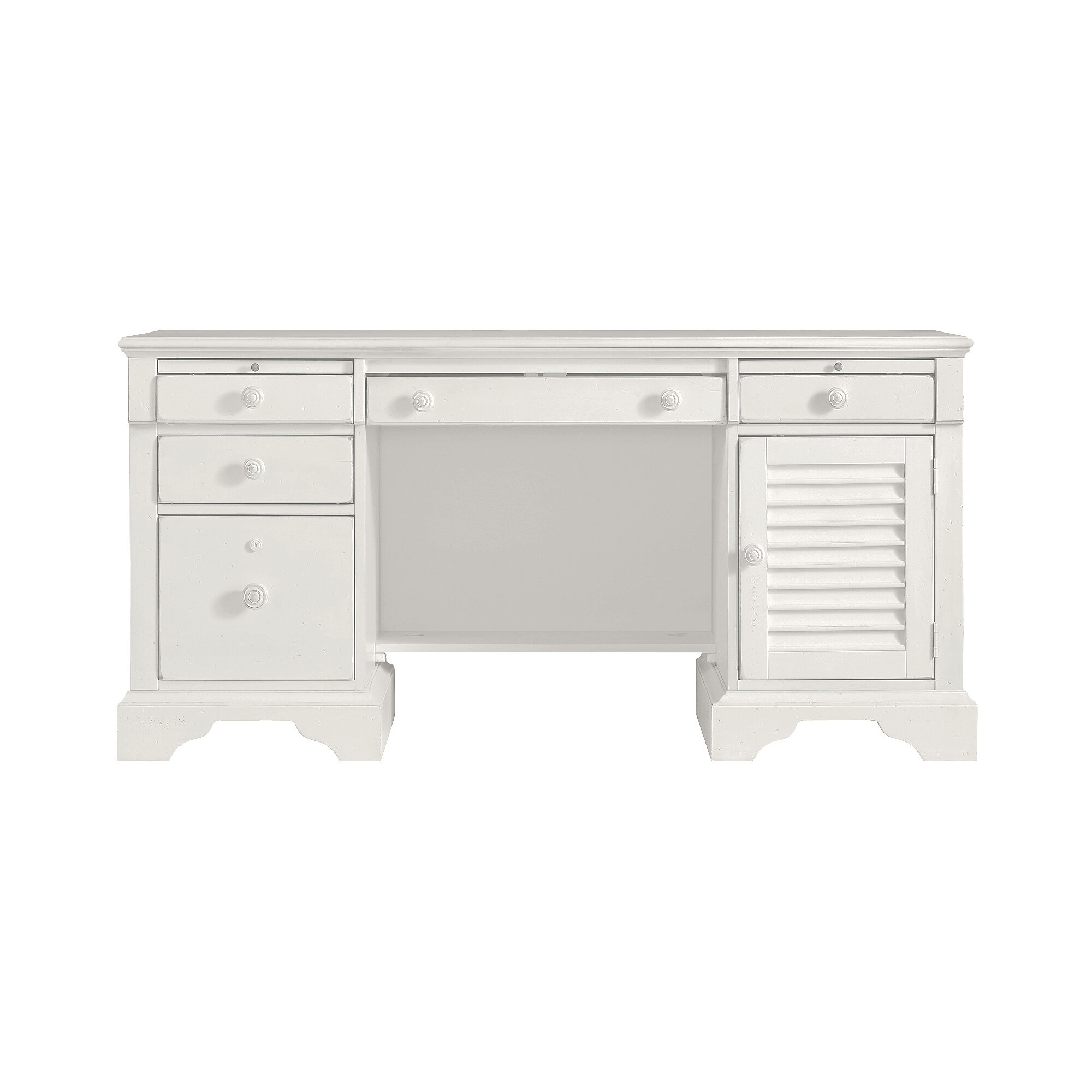 furniture white luxury product high end office detail desk executive modern