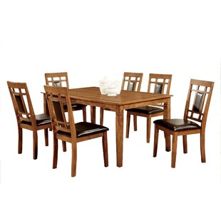 West Broadway Transitional 7 Piece Dining Set