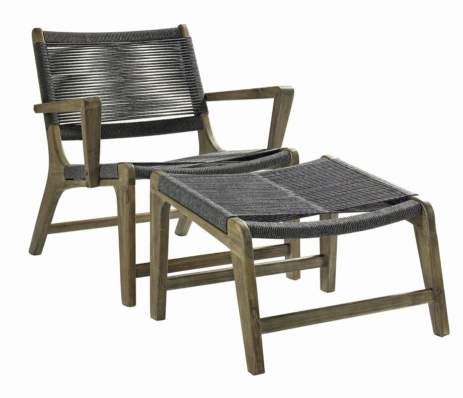 Patio Chair Set Part - 17: 2 Piece Oceans Outdoor Lounge Patio Chair Set