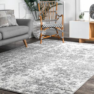 Bloom Cool Grey Dark Ivory Area Rug