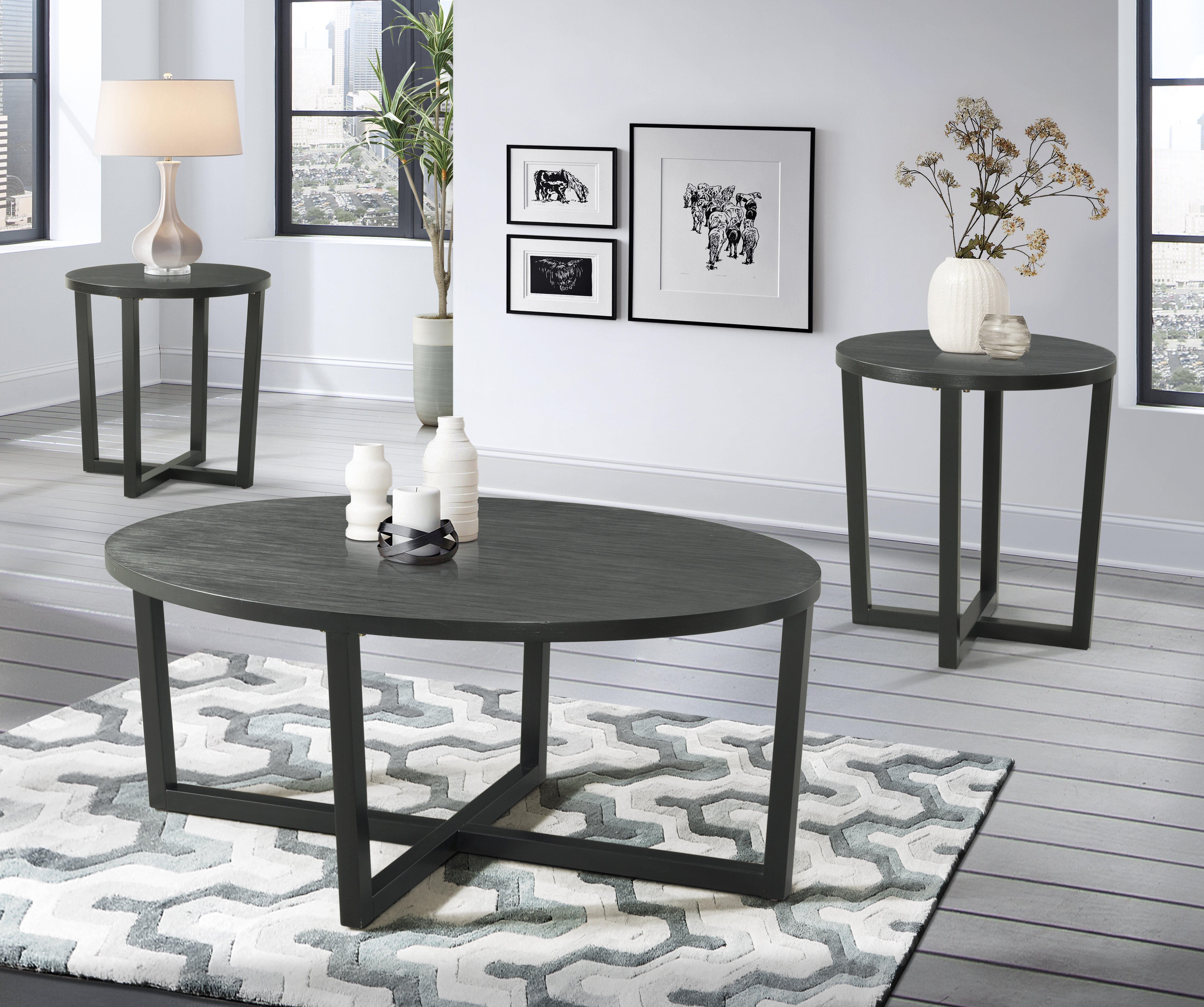 Peachy Brodbeck 3 Piece Occasional Coffee Table Set Interior Design Ideas Clesiryabchikinfo