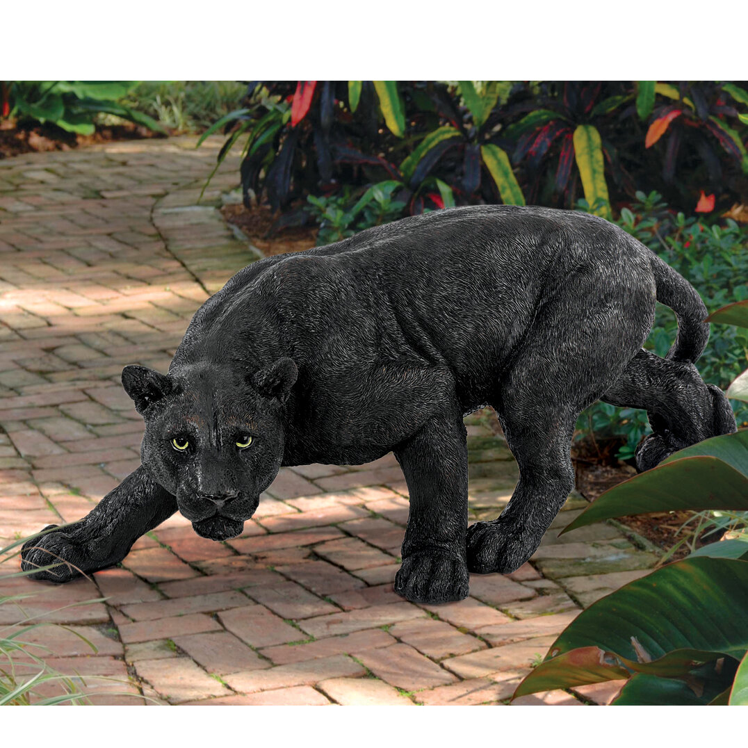 Design Toscano Shadowed Predator Panther Statue Amp Reviews