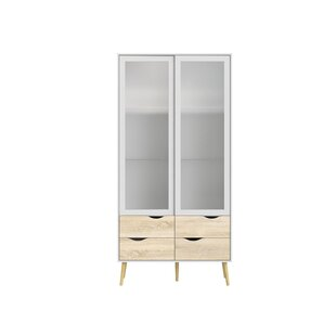 glass cabinet furniture luxury display quickview modern display cabinets allmodern