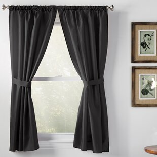 wayfair window treatments rod pocket save bathroom curtains window wayfair