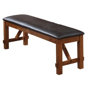 Isabelle Upholstered Bench by Charlton Home