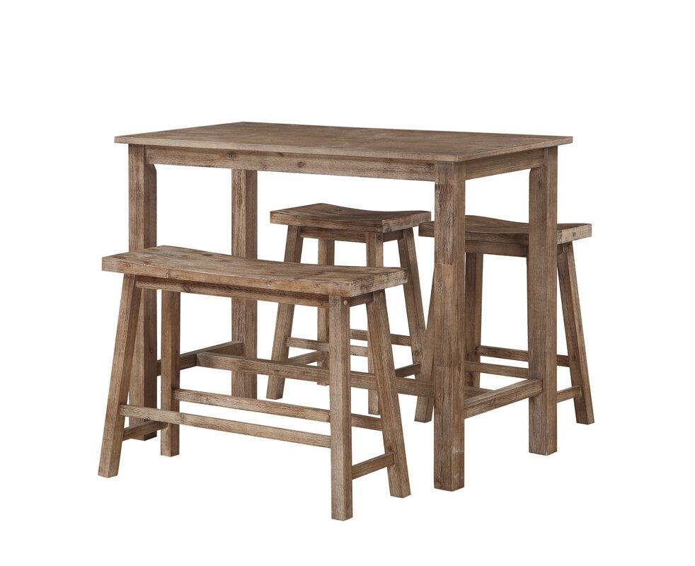 4 Piece Table Set Part - 45: Atlantis 4 Piece Pub Table Set