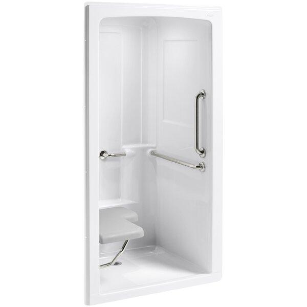 Fiberglass Shower Stalls | Wayfair