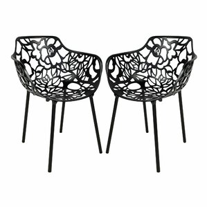 Avelar Metal Dining Chair (Set of 2) by B..