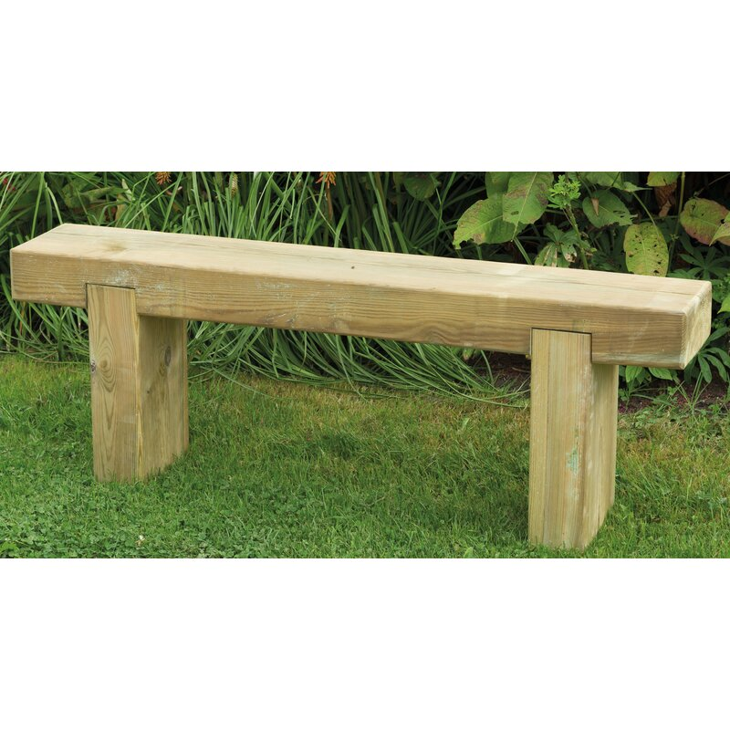 Bel 201 Tage Sleeper Wooden Bench Amp Reviews Wayfair Co Uk