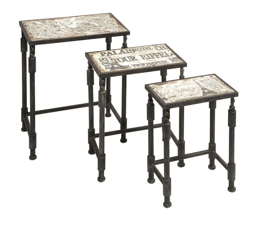 High Quality 3 Piece Knoxlin Nesting Table Set