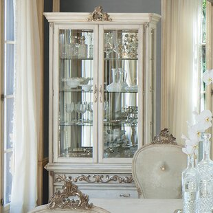 Platine De Royale Curio Cabinet