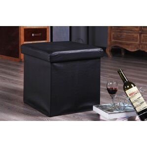 Balling Folding Storage Ottoman by Ebern Designs