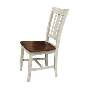 Joslin Solid Wood Dining Chair (Set of 2) by August Grove