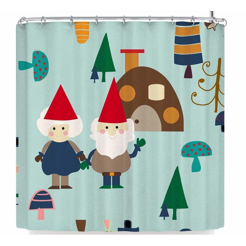 Bruxamagica Gnome Shower Curtain