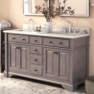 double vanity sink 60 inches. Darby Home Co Double Vanities You ll Love  Wayfair