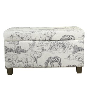 Hobart Jungle Kids Storage Bench by Harriet Bee
