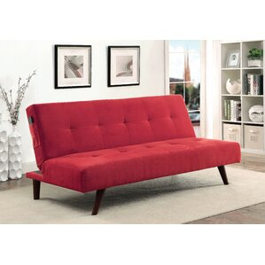 Queenscliff Tufted Futon Convertible Sofa by..