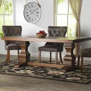 Parfondeval Extendable Wood Dining Table