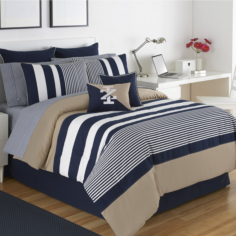 Cotton Comforter Sets Youll Love Wayfair - Blue and brown daybed comforter sets